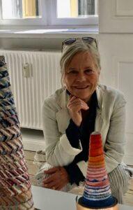 Portræt af Mette Ussing