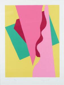 Richard Mortensen, Serigrafi 1975 239/250