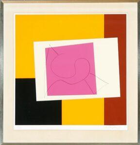Richard Mortensen, Kiel, Serigrafi i 5 farver, 1971