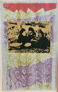 Susanne Mark, Nordafrikanske billeder 1978, 42 x 26 cm. off-settryk, 2500 kr.